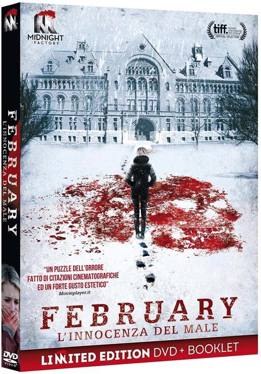 February. L'innocenza del male. Limited Edition con Booklet (DVD) di Oz Perkins - DVD