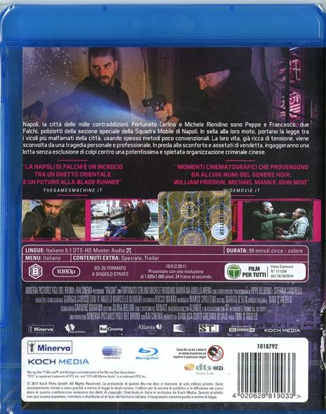 Falchi (Blu-ray) di Toni D'Angelo - Blu-ray - 2