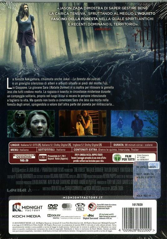 Jukai. La foresta dei suicidi. Limited Edition con Booklet (DVD) di Jason Zada - DVD - 2