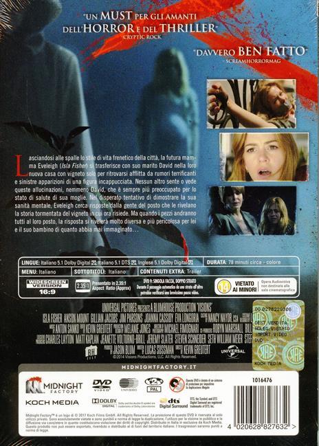 Visions. Edizione limitata. Con Booklet (DVD) di Kevin Greutert - DVD - 2