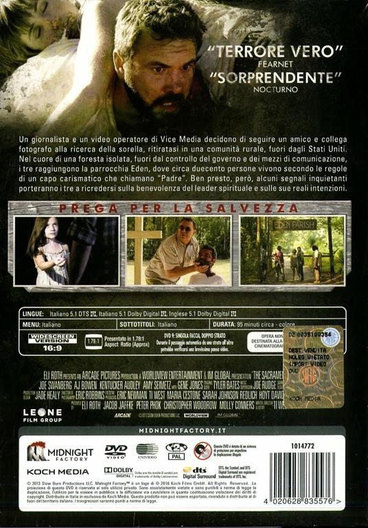 The Sacrament<span>.</span> Limited Edition di Ti West - DVD - 2