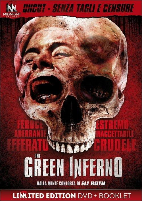 The Green Inferno. Uncut Version (con booklet)<span>.</span> Limited Edition di Eli Roth - DVD