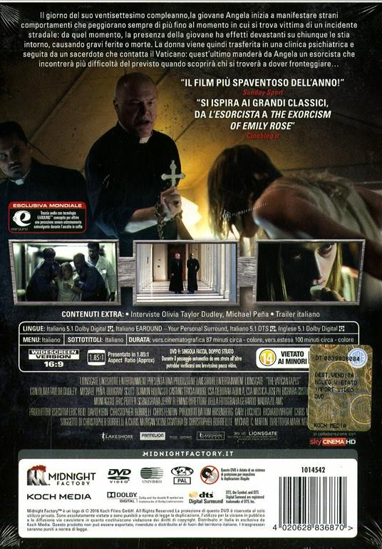 The Vatican Tapes. Limited Edition (2 DVD) di Mark Neveldine - 2