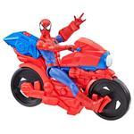 Spider-Man Personaggio Titan Hero 30cm Elettronico Con Moto