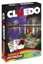 Cluedo. Travel (gioco in scatola, Hasbro Gaming)