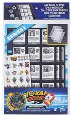 Yo-Kai Collector Book Pages