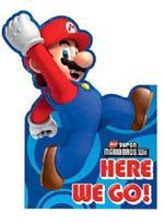 Set di 6 biglietti invito con busta di Super Mario Bros