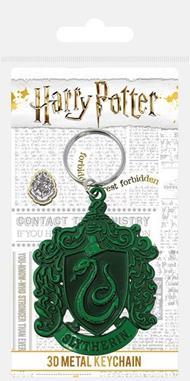 Pyramid Harry Potter: Slytherin Crest Metal Keychain (Portachiavi) Merchandising
