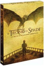 Il trono di spade. Stagione 5 (Serie TV ita) (5 DVD) di Alex Graves,Daniel Minahan,Alik Sakharov - DVD