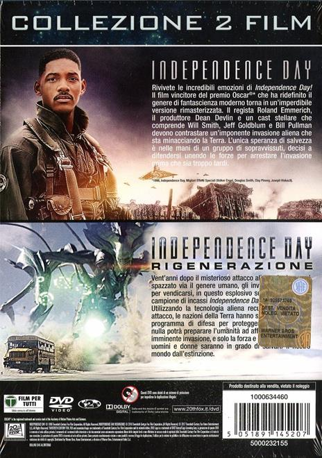 Independence Day. 2 Film Collection (2 DVD) di Roland Emmerich - 2