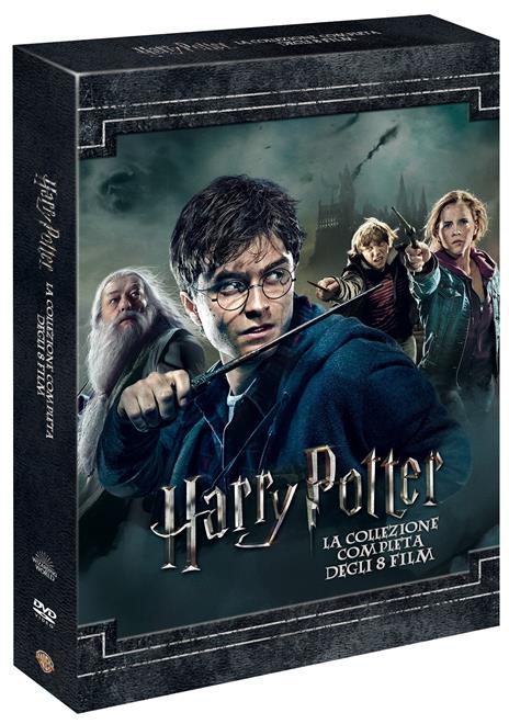 Harry Potter Collezione completa (8 DVD) di Chris Columbus,Alfonso Cuaron,Mike Newell,David Yates