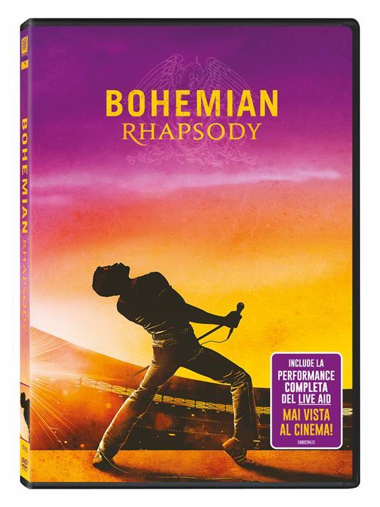 Bohemian Rhapsody (DVD) di Bryan Singer - DVD