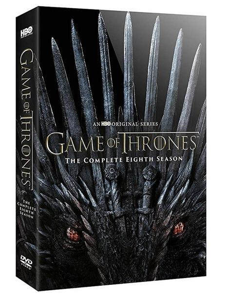 Il trono di spade. Game of Thrones. Stagione 8. Serie TV ita (3 DVD) di David Nutter,Miguel Sapochnik,David Benioff,D.B. Weiss - DVD