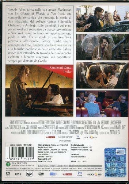Un giorno di pioggia a New York (DVD) di Woody Allen - DVD - 2