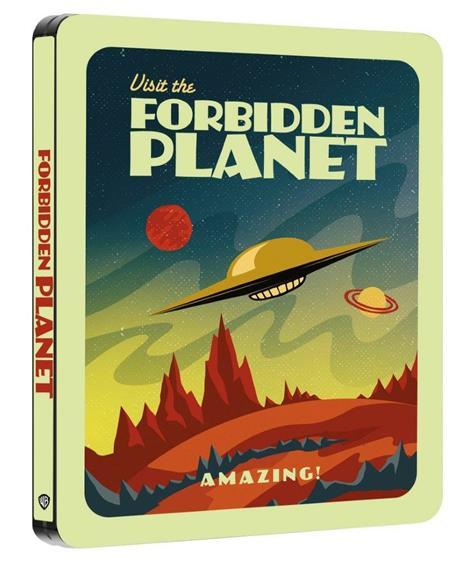 Il pianeta proibito. Con Steelbook e poster (Blu-ray) di Fred M. Wilcox - Blu-ray