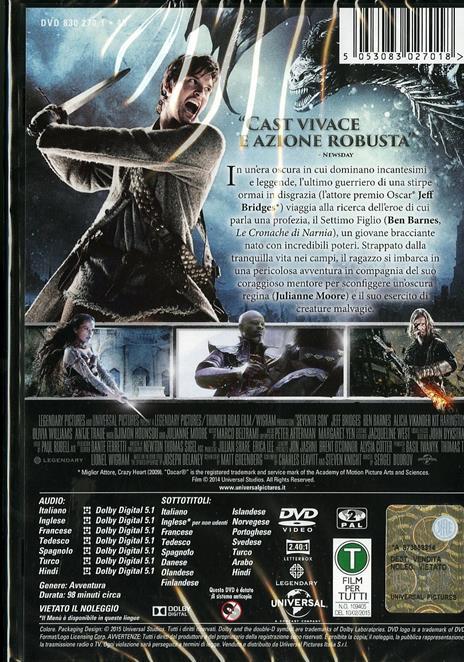 Il settimo figlio di Sergej Bodrov - DVD - 2