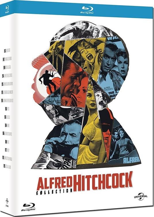 Alfred Hitchcock Collection (15 Blu-ray) di Alfred Hitchcock