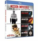 Mission: Impossible 1-6 Collection (7 Blu-ray)