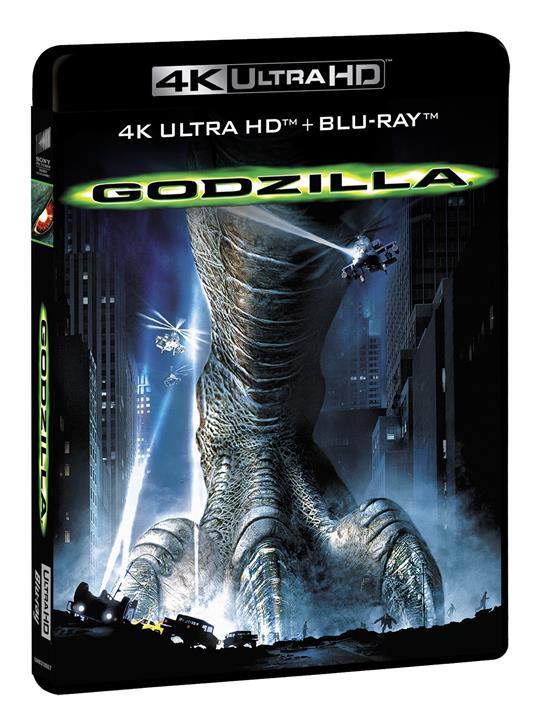 Godzilla (Blu-ray + Blu-ray Ultra HD 4K) di Roland Emmerich - Blu-ray + Blu-ray Ultra HD 4K