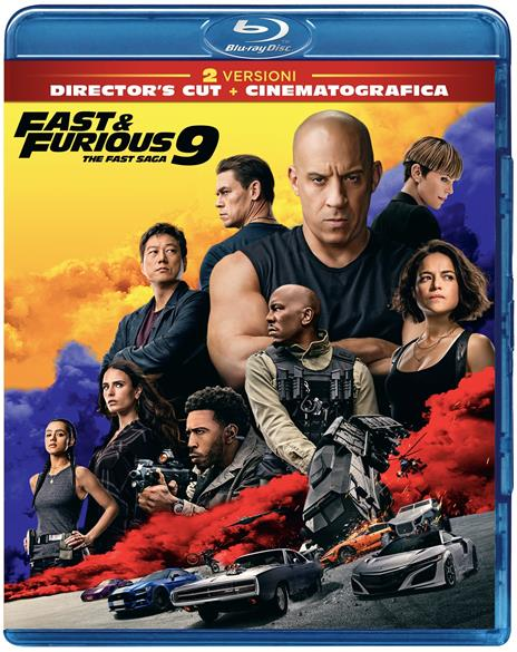 Fast & Furious 9 (Blu-ray) di Justin Lin - Blu-ray - 2