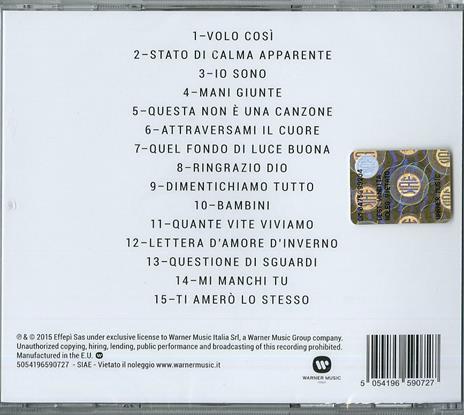 Io sono Paola Turci - CD Audio di Paola Turci - 2