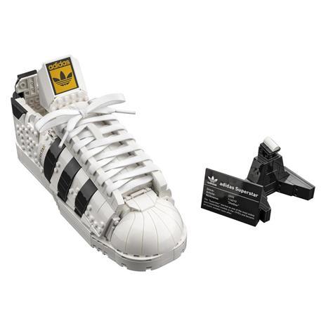 LEGO Icons (10282). Adidas Originals Superstar, Costruzione in Mattoncini, Sneaker da Collezione per Adulti - 7