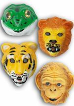 Maschera Animaletto In Plastica