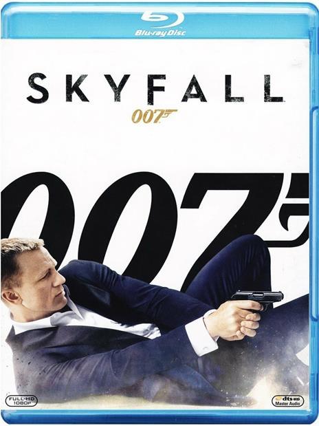 Skyfall 007 di Sam Mendes - Blu-ray