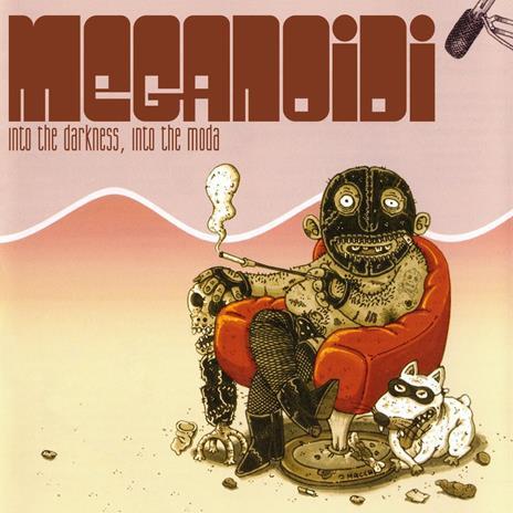Into the Darkness, Into the Moda (Red Coloured Vinyl - Limited Edition) - Vinile LP di Meganoidi