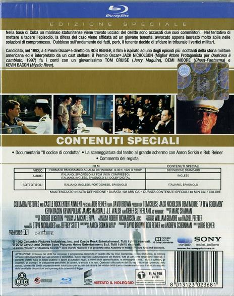 Codice d'onore di Rob Reiner - Blu-ray - 2