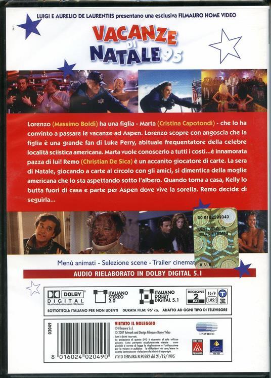 Vacanze di Natale 95 di Neri Parenti - DVD - 2