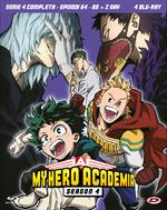 My Hero Academia. Stagione 4. The Complete Series (Eps. 64-88+2 Oav) (4 Blu-ray)
