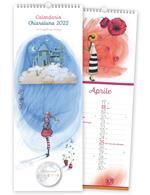Calendario Akena 2022, a spirale, Chiaraluna