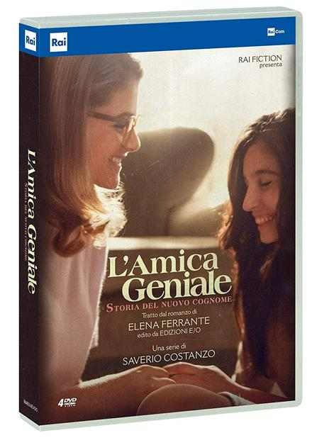 L' amica geniale. Storia del nuovo cognome. Stagione 2. Serie TV ita (4 DVD) di Saverio Costanzo,Alice Rohrwacher - DVD