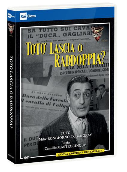 Totò lascia o raddoppia? (DVD) di Camillo Mastrocinque - DVD