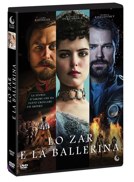 Lo Zar e la ballerina (DVD) di Aleksey Uchitel - DVD