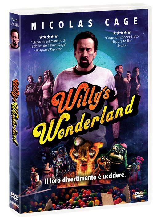 Willy's Wonderland (DVD) di Kevin Lewis - DVD