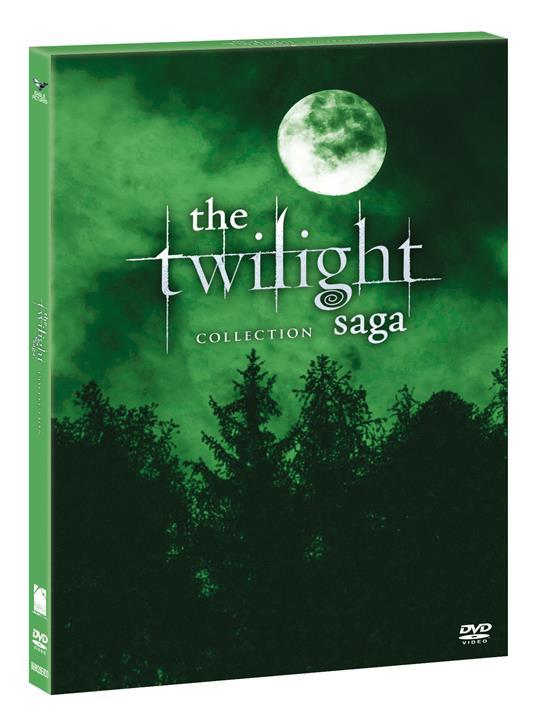 Twilight Saga Collection. Green Box (5 DVD) di Bill Condon,Chris Weitz,Catherine Hardwicke,David Slade