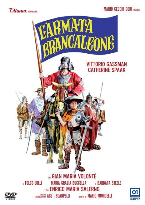 L' armata Brancaleone (DVD) di Mario Monicelli - DVD