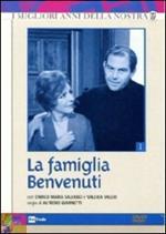 La famiglia Benvenuti. Stagione 1 (3 DVD)
