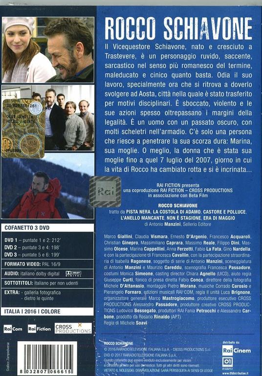 Rocco Schiavone (3 DVD) di Michele Soavi - DVD - 2
