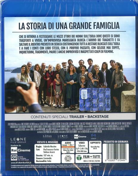 A casa tutti bene (Blu-ray) di Gabriele Muccino - Blu-ray - 2
