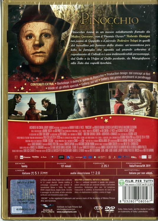 Pinocchio (DVD) di Matteo Garrone - DVD - 2