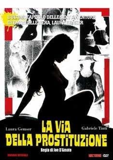 La via della prostituzione (DVD) di Joe D'Amato - DVD