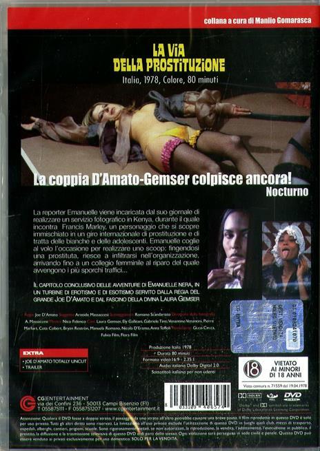 La via della prostituzione (DVD) di Joe D'Amato - DVD - 2