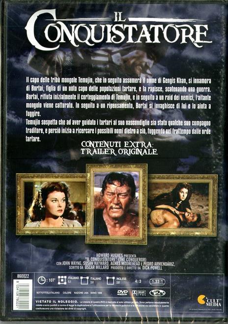 Il conquistatore di Dick Powell - DVD - 2