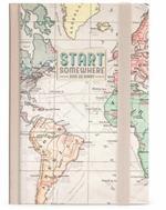 Agenda settimanale Legami Photo 2021-2022, 16 mesi Small Travel - Viaggio con notebook