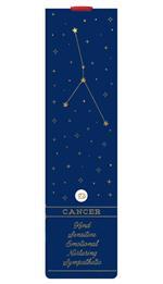 Segnalibro Legami Aphorism con elastico. Cancro. Cancer