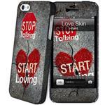Hard Case + Skin Love iPhone5