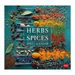 Calendario da parete Legami 2022 Herbs&Spices, Erbe&Spezie - 30x29 cm